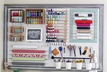 Craft Storage & Organization / by Brandy Mayerski