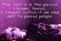 Chron·ic / Fibromyalgia+ Migraines+ Seizures.This is my battle, + will be for my lifetime. Awareness, research + support are Keys to living the best You can. / by Jamie H