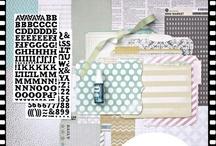 "Dezemberkit 2012 ""Winter & Co."" / - ILS I lowe scrap - Echo Park - Pink Paislee - Alphabet Sticker American Crafts - File Folder Heidi Swapp - Washi Tape Bella Blvd. - Mister Huey Studio Calico -"