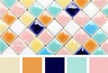 Farbinspirationen | Colors / Farben über Farben - lasst euch inspirieren!