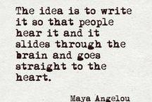Writing / by Haley Hardaway