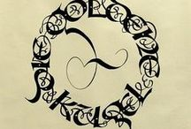 Calligraphy Uncial / Uncial Calligraphy / by Natalie Lowry