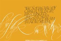 Calligraphy Romans / Versals & Romans Calligraphy / by Natalie Lowry