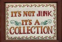Accumulations / Collections, Heaps, Gatherings, Caches & Etc. But Not Junk.