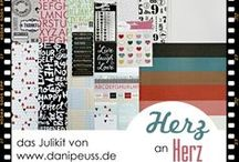 "Julikit 2014 ""Herz an Herz"" / #dpJulikit14 von www.danipeuss.de | Teresa Collins |Basic Grey ] Studio Calico | Crate Paper | American Crafts | Pink Paislee | My Minds Eye |Dovecraft"