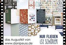 "Augustkit 2014 ""Nur Fliegen ist schöner"" / #dpAugustkit14 von www.danipeuss.de : Hauptkit & 3 Add-Ons: Mini-Kit, Project Life-Kit, Stempelset"