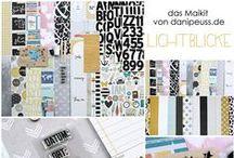 """Maikit 2015 """" Lichtblicke """" & Add Ons / Werke des Design Teams mit dem #dpAprilkit15 und farblich darauf abgestimmten Add Ons von www.danipeuss.de"""