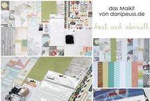 "Maikit 2016 ""dort und überall"" + AddOns / Werke mit dem Scrapbooking Kit, Minikit, Project Life Kit, Planner Kit, Karten Kit, Mixed Media Kit und den Klartext Stempel AddOns von www.danipeuss.de #dpMaikit16"