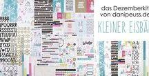 "Dezemberkit 2016 ""Kleiner Eisbär"" + AddOns / Werke mit dem Scrapbooking Kit, Minikit, Project Life Kit, Planner Kit, Karten Kit, Mixed Media Kit und den Klartext Stempel AddOns von www.danipeuss.de #dpDezemberkit16"