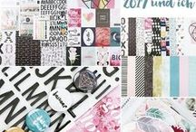 "Januarkit 2017 ""2017 und ich"" + AddOns / Werke mit dem Scrapbooking Kit, Minikit, Project Life Kit, Planner Kit, Karten Kit, Mixed Media Kit und den Klartext Stempel AddOns von www.danipeuss.de #dpJanuarkit2017"