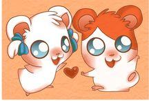 Hamtaro / The cutest hamster in all the land / by Jess Gamez