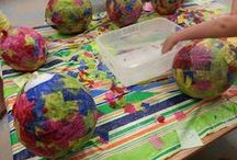 Crafty Teaching Ideas / Activities and ideas for kids crafts. From paint to colored pencils to famous painter-inspired work, your kids crafts are covered here.