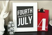 Holidays: Red, White, & Blue / PATRIOTIC HOLIDAYS CRAFTS, FOOD, DECOR, & ACTIVITIES  For more festive fun check out my other Holidays boards!