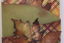 Autumn cards / by Glenda Poldrack