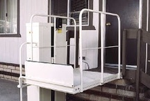 Wheelchair lifts / #Wheelchair Lifts transport manual wheelchair, power wheelchair and mobility #scooters from one level to another.