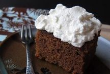 Recipes: Gingerbread / Gingerbread cakes + cookies ... yum!