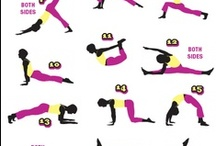 Fitness stuff / because i want to get in shape or something? / by Amanda Neal