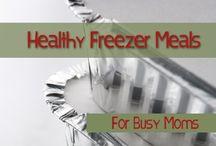 Freezer meals / by Amanda Casteel