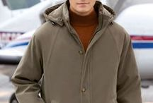 Outerwear Winter 2014  / Cold temperatures and harsh weather shouldn't prevent you from looking your best. Here are a few ways to stay comfortable with style this winter. / by Jos. A. Bank