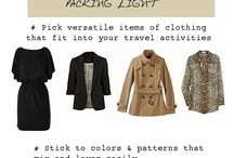 Clothing - packing & wardrobe lists