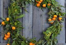 Wreaths & Door Hangings...