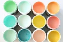 Color / Color, color, color, combos, palettes, bright, mixtures / by Amy Lynn Grover