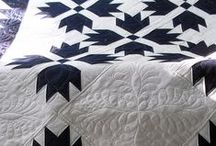 B&W patchwork inspirations / finding magical patchwork prints