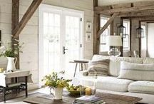 House-spirations: Living Room / CREATE A SPACE THAT YOU WANT TO BOTH ENTERTAIN IN & LIVE IN  For more inspiring home decor ideas check out my House-spirations boards.