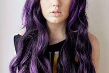 Purple Hair & Blue Hair