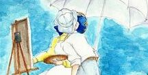 Studio Ghibli *-* / Animation, landscape, ghibli, cartoons, anime, movies