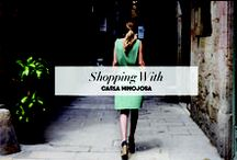 #ShoppingWith Interviews / Showcasing the www.mimagazine.es monthly influencer #shoppingwith interviews, sharing the expert influencer opinion about shopping and and style