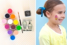 Fun With The Kiddos-Face painting / by Leslie Porter
