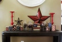 Decorate! My Projects / Some are 'pinspired' some are my own creations.  / by Leslie Porter