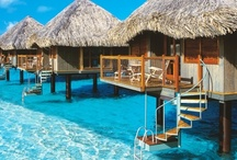 This Is Where I Will Live When I Win the Lottery / My dream home would be one of those little cabins over the water in Bora Bora...or anyplace tropical...or Italy...or... / by Courtney DeRusha