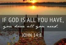 God ... above all else! / love these messages from God! / by Anne McErlean