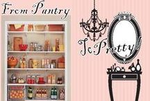 """BEAUTY: Pantry To Pretty & Other Misc. Beauty Tips / Get Gorgeous For Less…With At Home  BB """"Bits"""" That Won't Break Your Wallet!   Want to see more beautylicious ideas?  Check out my blog: www.barbiesbeautybitsblogger.blogspot.com / by Barbie's Beauty Bits"""