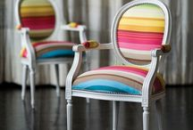 DIY UPHOLSTERY / by Virginia Worrell