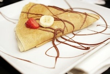 Crepes...need to learn to make these! / love them but have never tried to make them... now is the time to resolve that! / by Anne McErlean