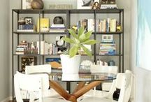 Inspired Dining Rooms  / Dining rooms, dining rooms and library in one, eating area and most likely party area / by Jacqueline { simple home life }