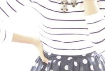 FASHION / spots + stripes / womens clothing + style + spots and stripes