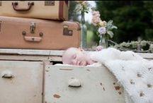 Vintage Baby Photo Shoot  / www.preciousandblooming.com www.claudiaakersphotography.com www.radonichranch.com