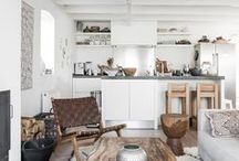 beach house kitchen/family room