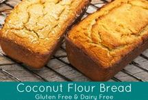 Coconut Flour Recipes / Our Healthworks Organic Coconut Flour is produced from 100% pure coconut meat. Use coconut flour for breads, cookies, brownies, muffins, cakes, pancakes, waffles, protein bars, and more! You can even throw some in your smoothies to make them thicker. Coconut flour is also a great alternative for recipes that call for wheat or grain flours. High in nutrients like fiber, but low in calories, this grain-free, wheat-alternative flour is non-GMO, gluten-free, grain-free, and paleo friendly.