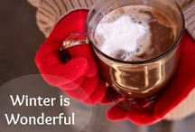 """Winter is Wonderful! / To survive a long cold winter I repeatedly tell myself """"Winter is wonderful."""" This board is a collection of winter crafts, recipes, activities, and anything cozy that makes winter months truly wonderful...or at least survivable!  (Bloggers: Please pin posts from your blog that are winter related, not holidays. Thank you!)"""