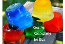 Summer is Sizzling! / Super sizzling creative summer connections... / by Kristi @ Creative Connections for Kids