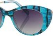 Shade Inspiration- Turquoise Eyewear / Turquoise, serenity, calm and relaxing. Turquoise is the symbol of youth, both the color and the gemstone. This color has a soothing affect. Turquoise is the color of communication. Turquoise has long been used in amulets to provide protection, health, confidence and strength.- crystal-cure.com