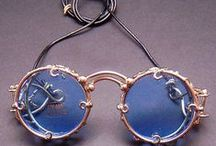 Steampunk Eyewear / Steampunk - Steampunk is a sub-genre of science fiction that typically features steam-powered machinery,[1] especially in a setting inspired by industrialized Western civilization (Wikipedia)