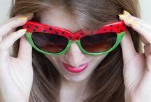 Foodie Eyewear Fun / Food as represented in Eyewear and Sunwear.  / by Optical Vision Resources