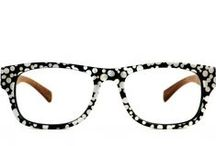 Shade Inspiration: Black + White Eyewear / Black and White Shades, eyeglasses and #eyewear plus a little fashion and design