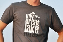 My Great Lake Erie / Interesting facts and some Lake Erie products.